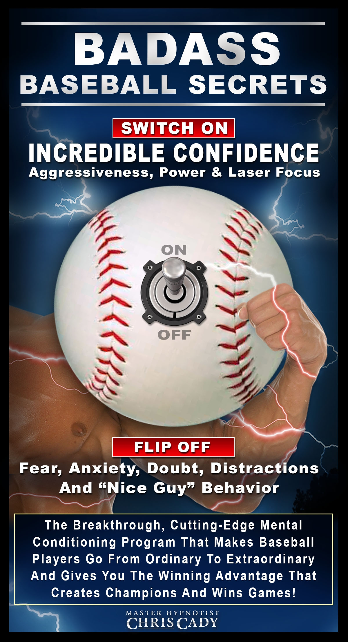 baseball hypnosis mental game training program