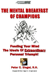 mental breakfast of champions sports hypnotherapy peter siegel