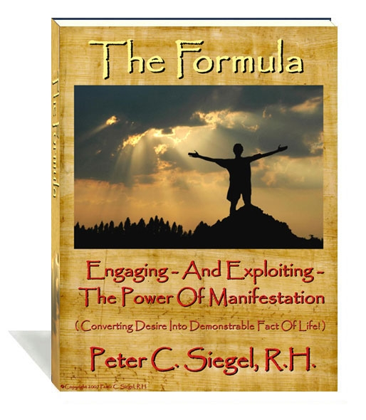the formula peter siegel book success program