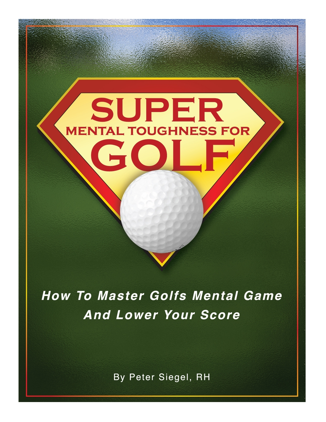 Super mental toughnes for golf sports hypnotherapy cd and book