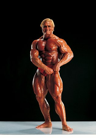 Body builder Tom Platz Mr America Mr Universe posing muscles